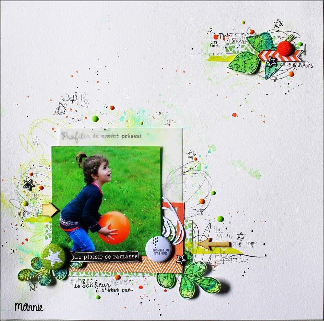 papiers aquarelle, calque, MME, Swirlcards, Infocréa &#x3B; tampons L'Encre et l'image, des Mots en scrap, Carabelle Studio &#x3B; encres Izink, Versafine, brushos, encre de Chine, découpe  Kési'art, badge Badgefolies, brad velours, Enamel dots, flèches et étoiles en bois, MT
