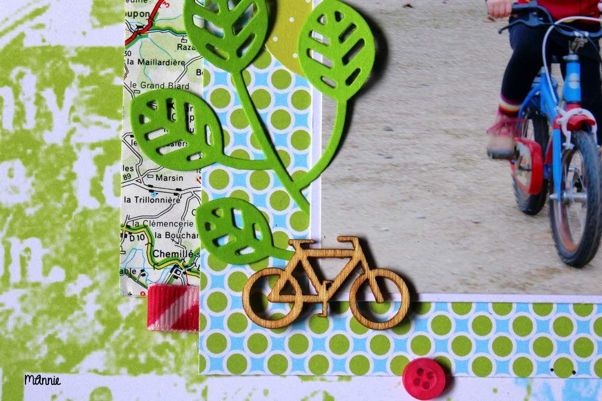 merci beaucoup  Kinna  pour  le  petit  vélo en bois ♥  ! ( cadeau dans une PL )