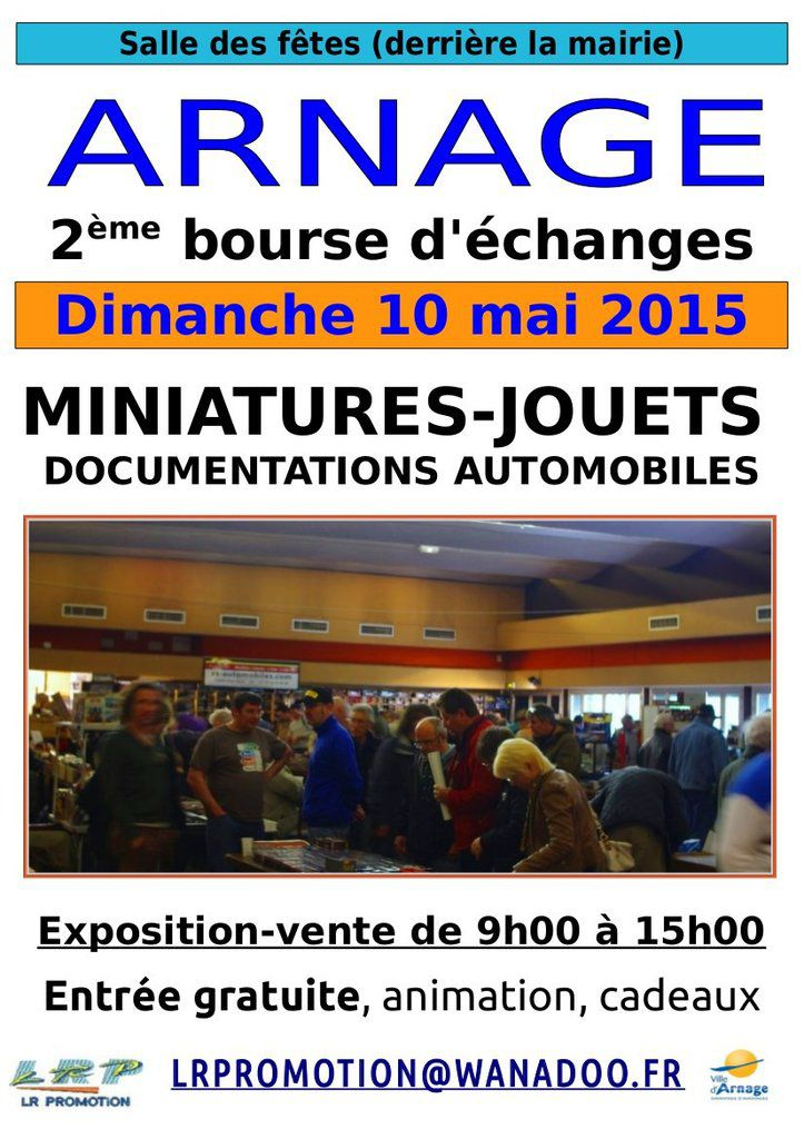 Bourse d'échanges véhicules miniatures documentation automobile
