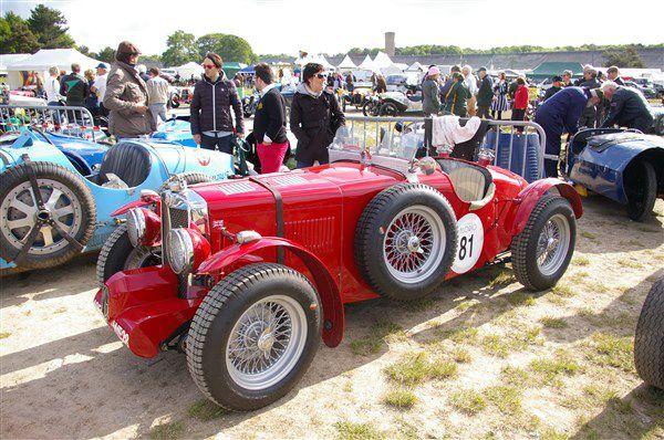 Les voitures de sport au Vintage Revival Montlhéry