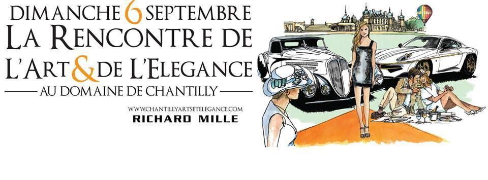 Chantilly : la crème des concours d'élégance automobile
