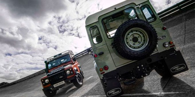 Land Rover Defender – Photo : D.R.