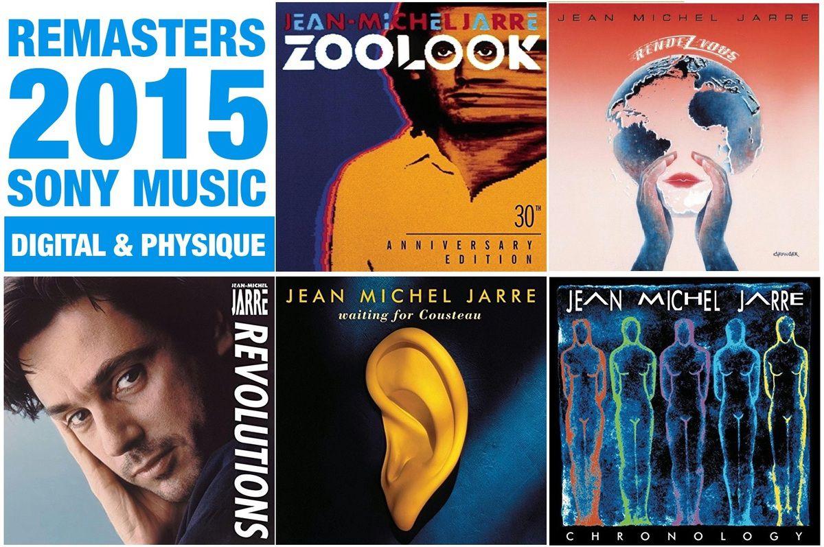 5 albums classiques de Jarre remasterisés pour une sortie physique CD et digitale