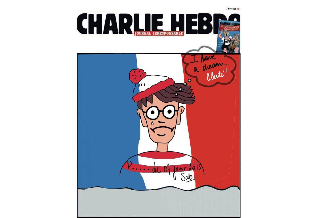 Si tu t'demandes où est Charlie ... à jamais dans nos esprits!