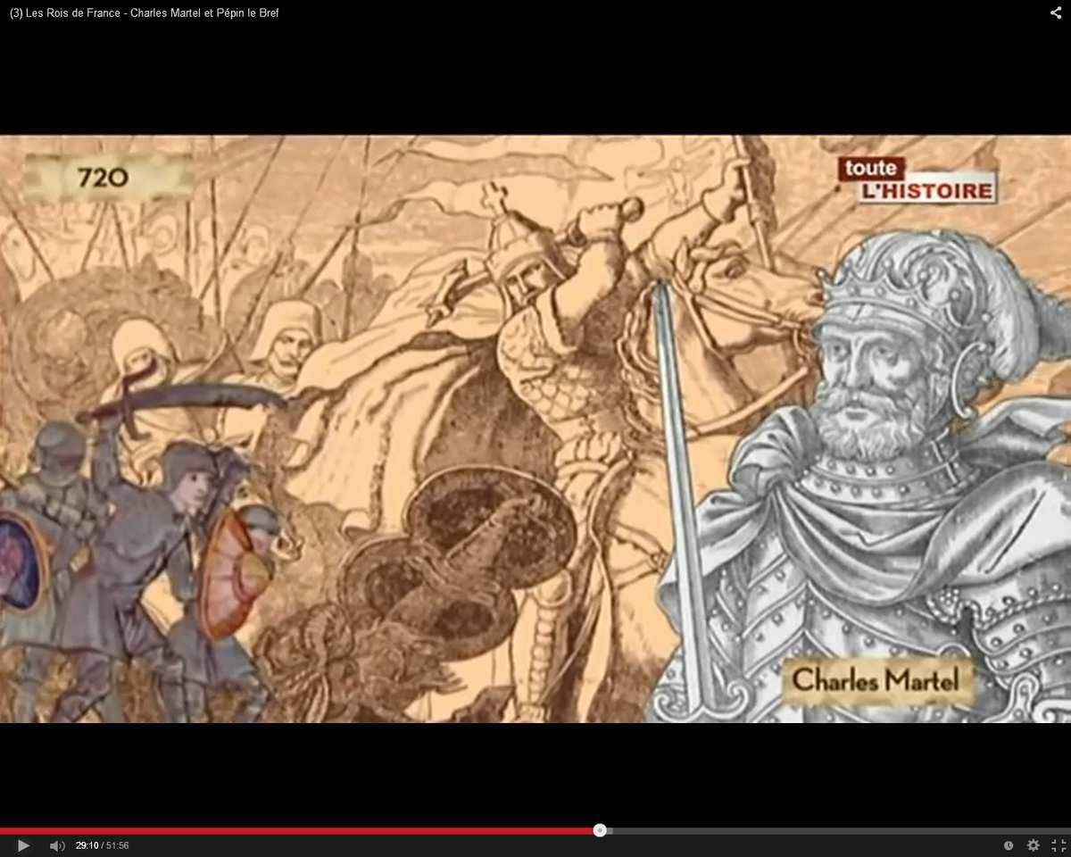 (3) Les Rois de France - Charles Martel et Pépin le Bref