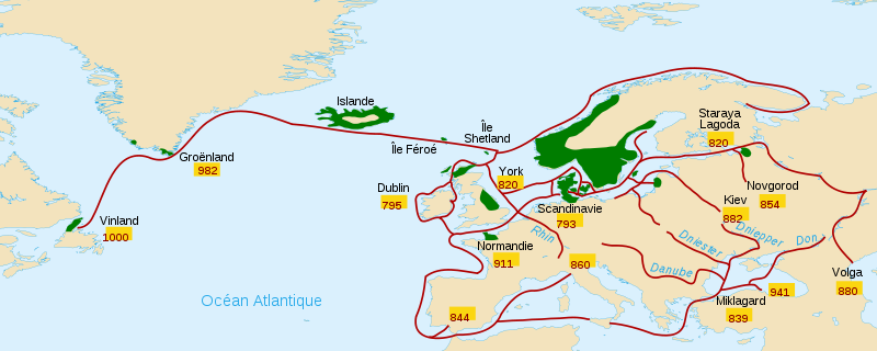 Invasions vikings (IXe-Xe siècle)