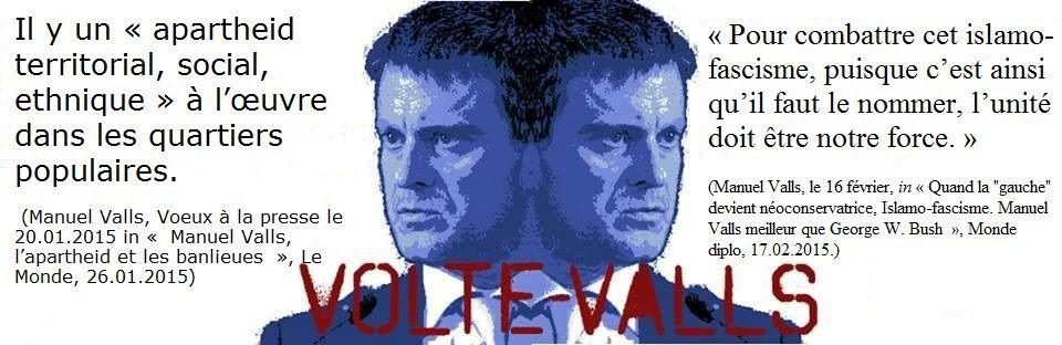 Manuel Valls l'extrémiste bipolaire, l'homme aux deux visages