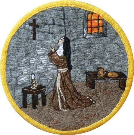 Sainte Colette de Corbie, clarisse († 1447)