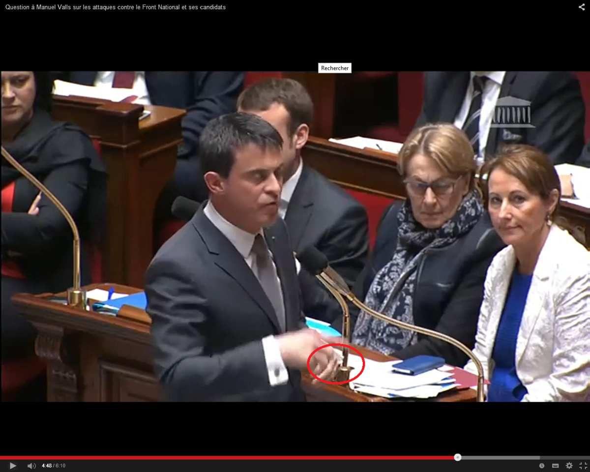Marion Maréchal-Le Pen fait trembler Manuel Valls à l'Assemblée nationale