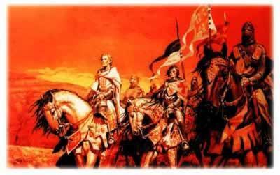 830e anniversaire de la naissance au Ciel du Roi Baudouin IV de Jérusalem (1161-1185)
