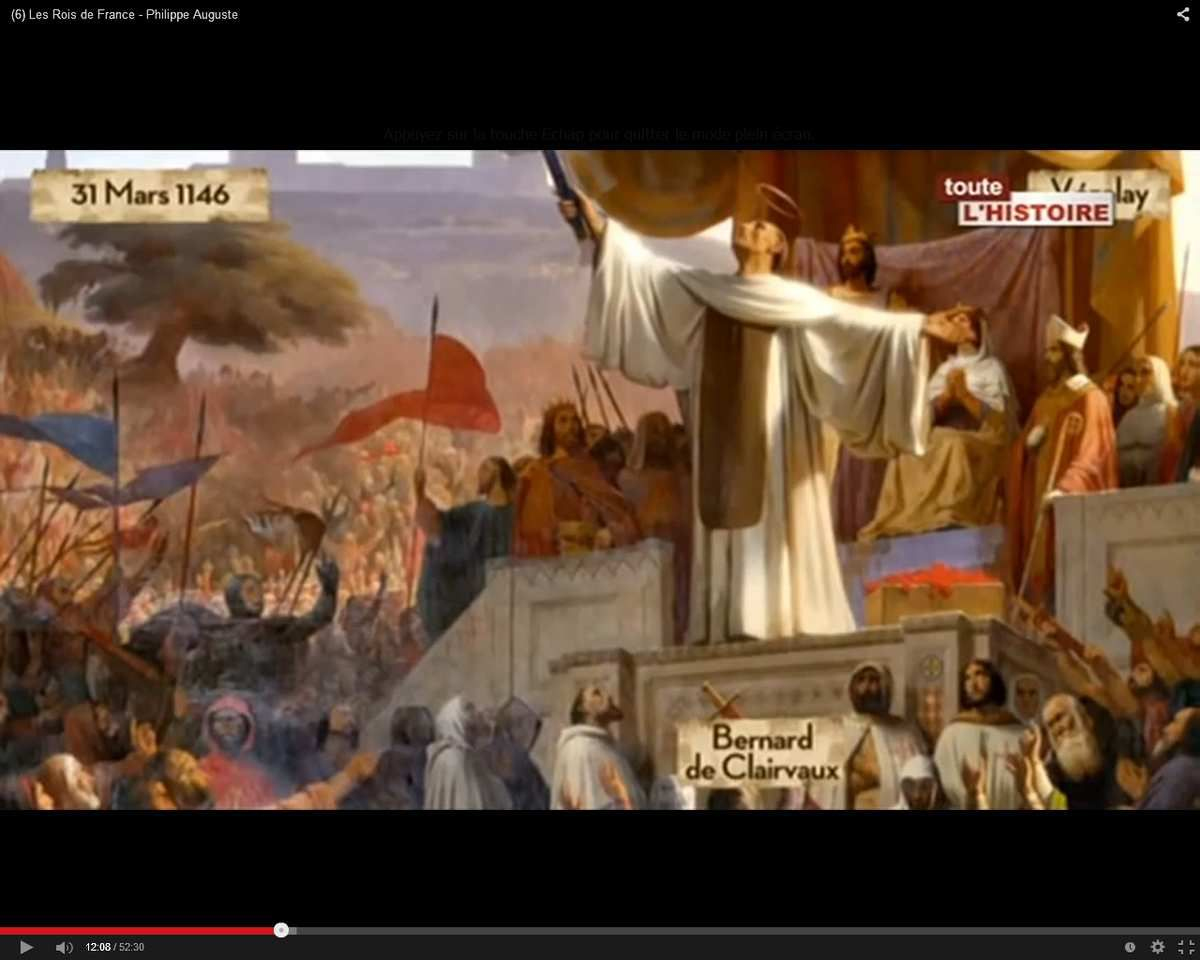 (6) Les Rois de France - Philippe Auguste