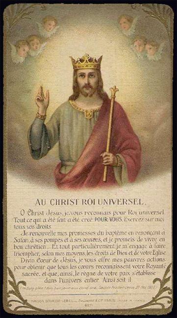 Christ-Roi (R. P. Jean-Marie)
