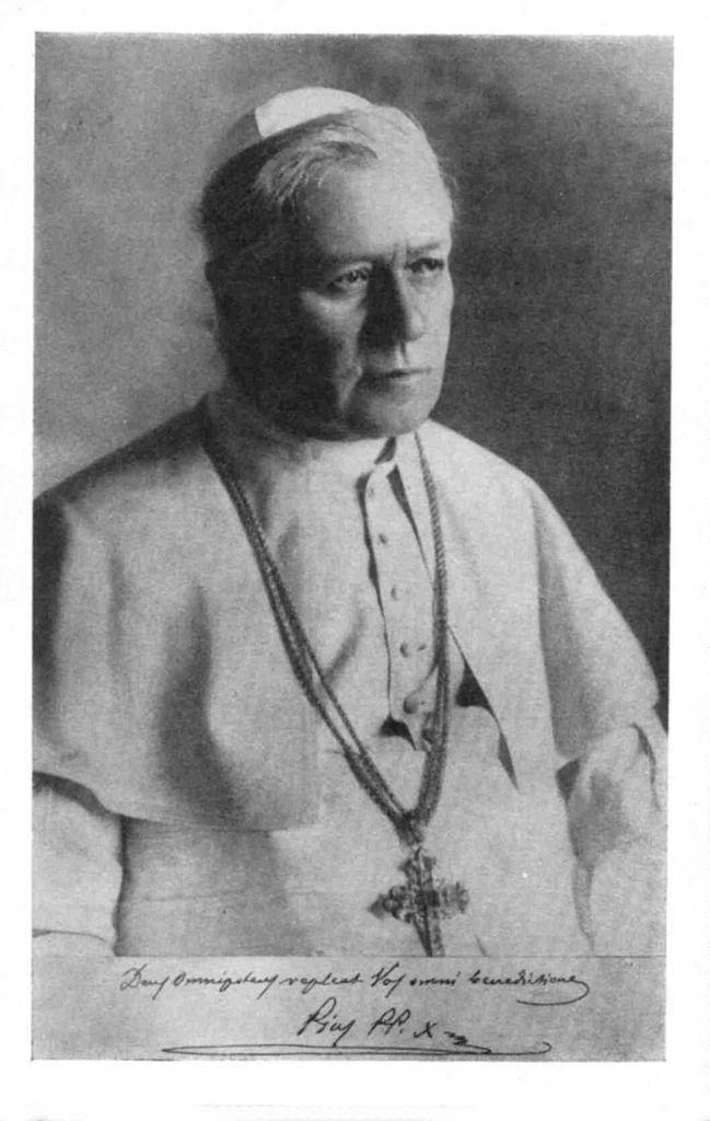 Saint Pie X, Pape (1835-1914)