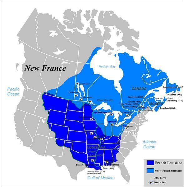 Nouvelle-France sous Louis XIV