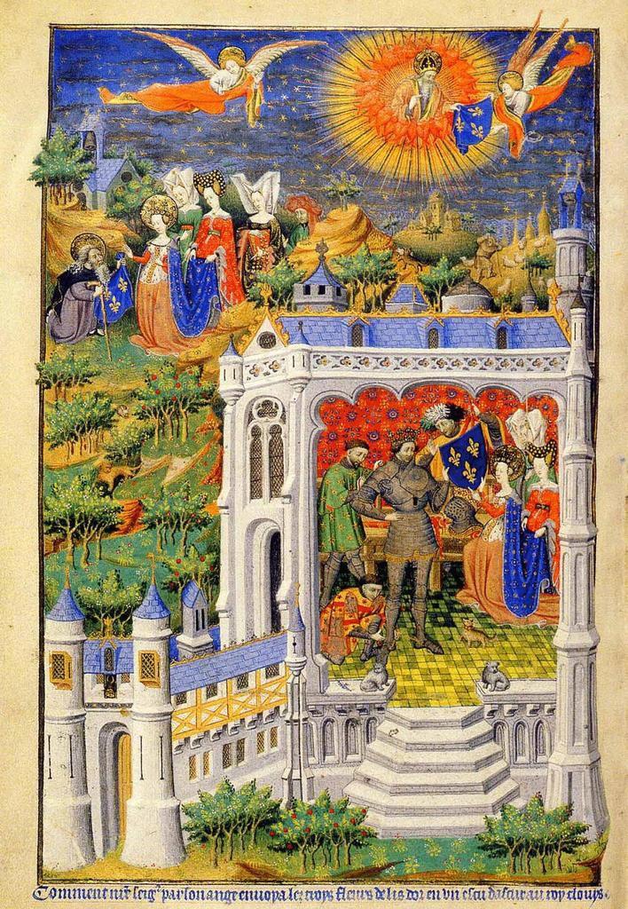 La conversion de Clovis, les fleurs de lys, l'origine de notre histoire