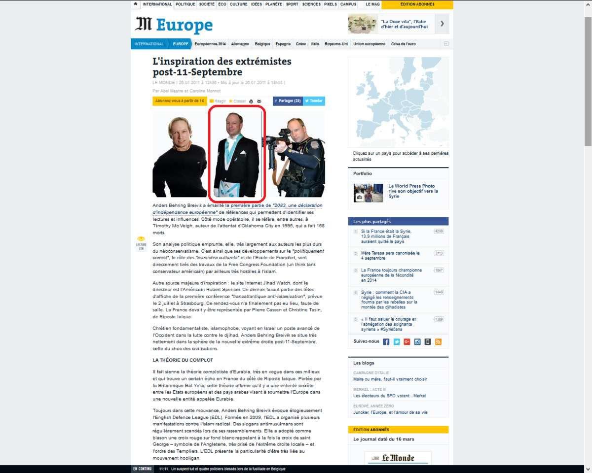 Breivik luttera pour le national-socialisme &quot&#x3B;jusqu'à (sa) mort&quot&#x3B;