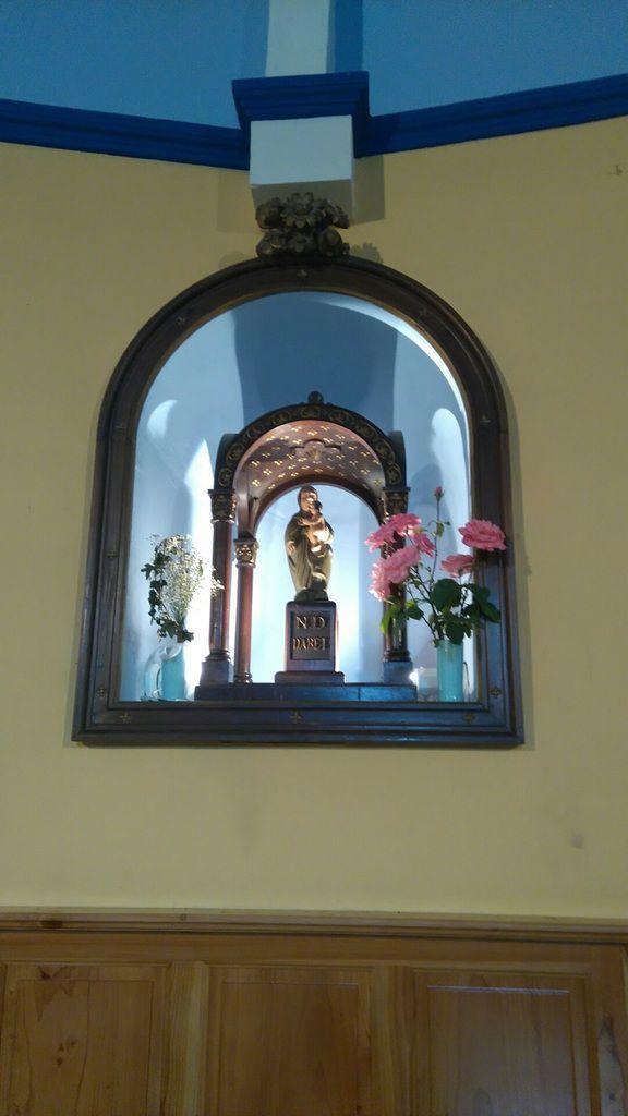 Sanctuaire Notre-Dame d'Abet de Lahontan - Statue Notre-Dame d'Abet