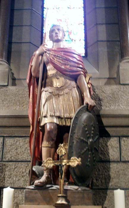 Saint Romain de Rome, martyr († v. 258)