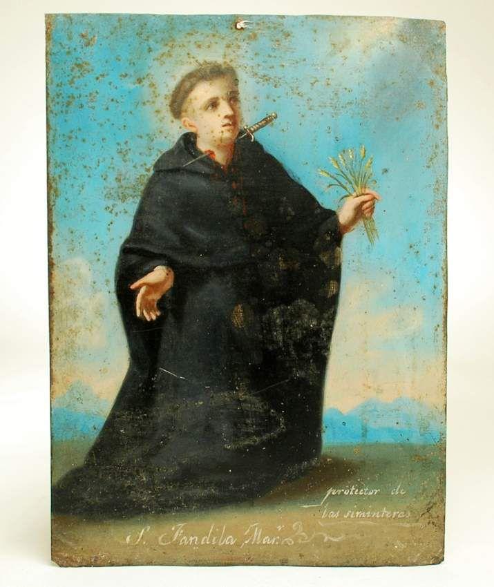 Saint Fandila, peinture du début du XIXe siècle