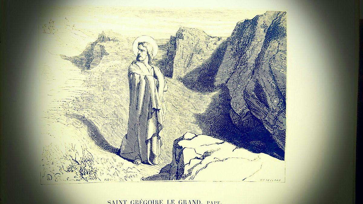 Saint Grégoire, pape et docteur de l'Eglise (+ 604)