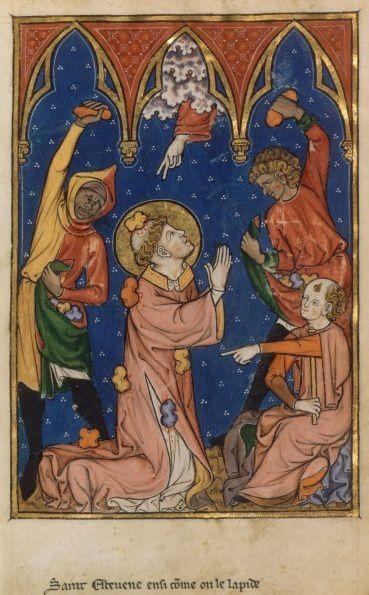 Saint Etienne, diacre, premier martyr (Ier s.)