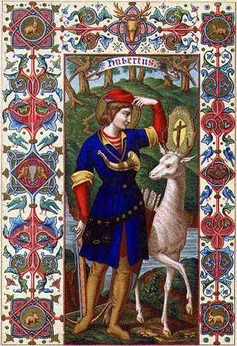 Saint Hubert, évêque de Tongres-Maastricht-Liège († 727), Patron des chasseurs