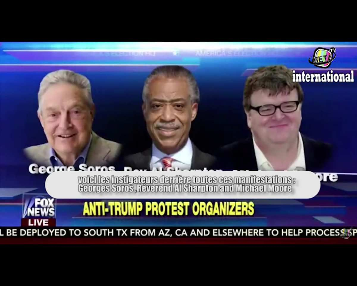 Les manifestations anti-Trump financées par Georges Soros (Fox News)