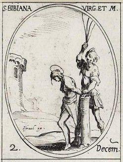 Sainte Bibiane ou Viviane, vierge et martyre († 363)