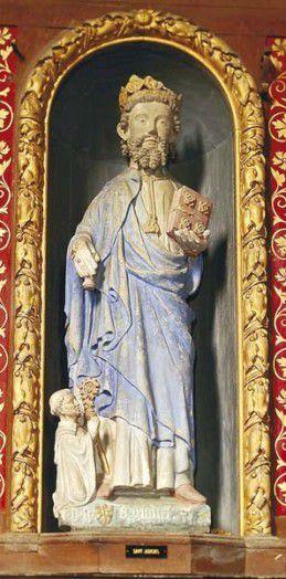 Saint Judicaël (Gaël), roi de Bretagne (v. 650)