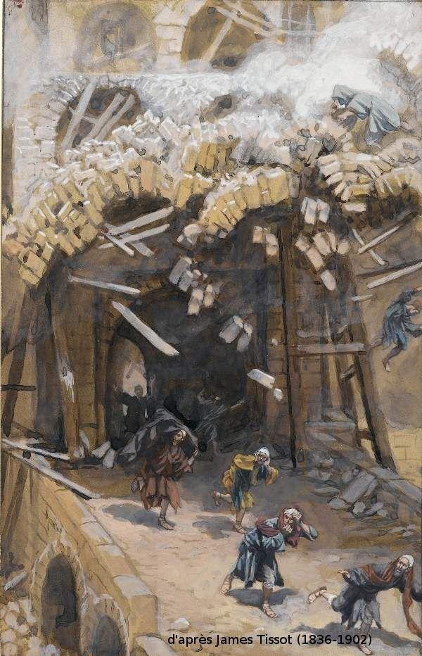 L'effondrement de la tour de Siloé