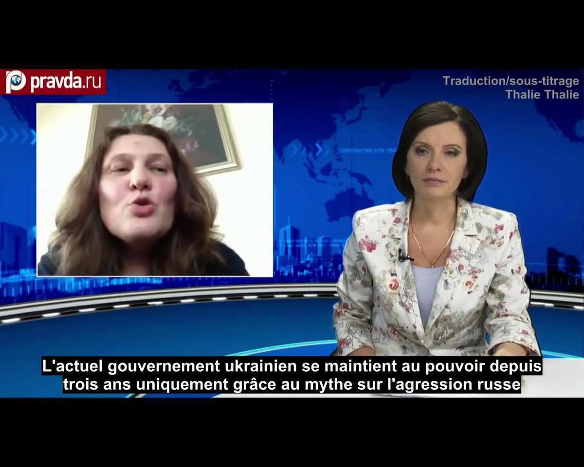 Tatiana Montian : l'actuel gouvernement ukrainien se maintient au pouvoir depuis trois ans grâce au mythe sur l'&quot&#x3B;agression russe&quot&#x3B;