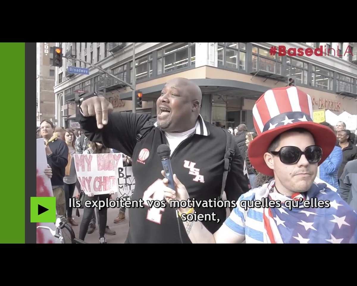 Un noir américain expose la vérité sur les socialistes : &quot&#x3B;ils exploitent vos motivations quelles qu'elles soient pour vous exciter et diviser le pays&quot&#x3B;