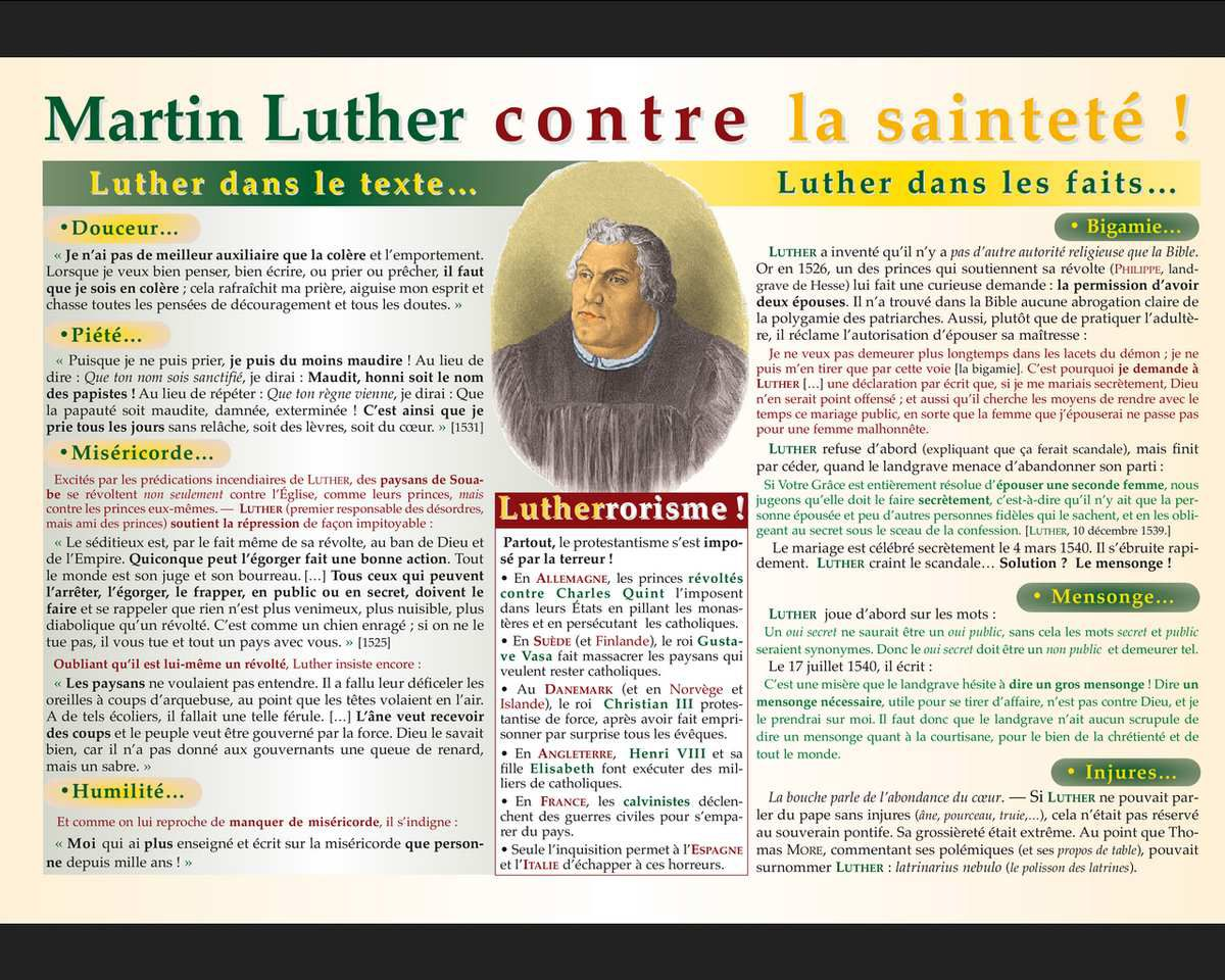 Martin Luther, l'anti-saint