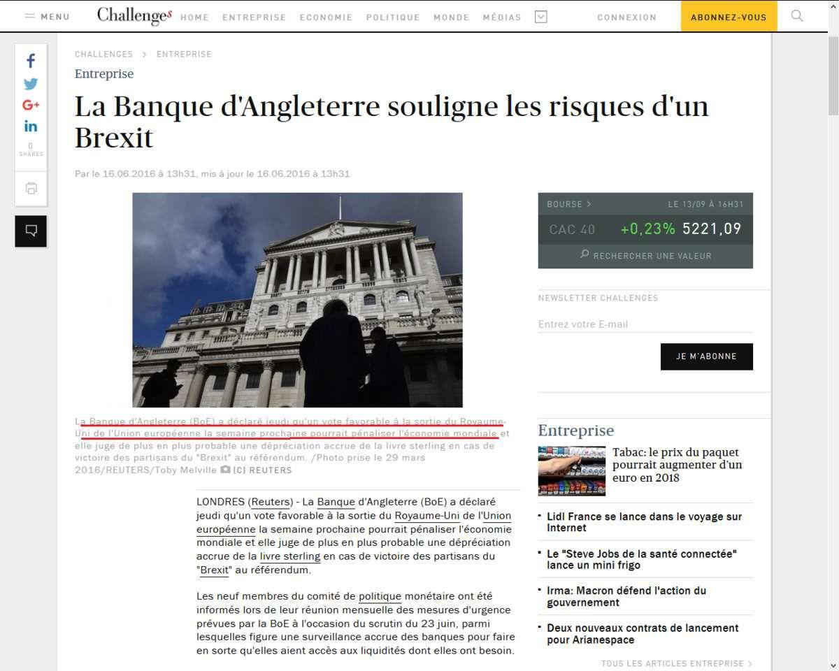 Brexit : l'apocalypse économique n'a pas eu lieu au Royaume-Uni, baisse record du chômage