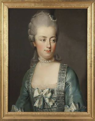 Marie-Antoinette - Portrait de SM la reine Marie-Antoinette, par Joseph Hickel