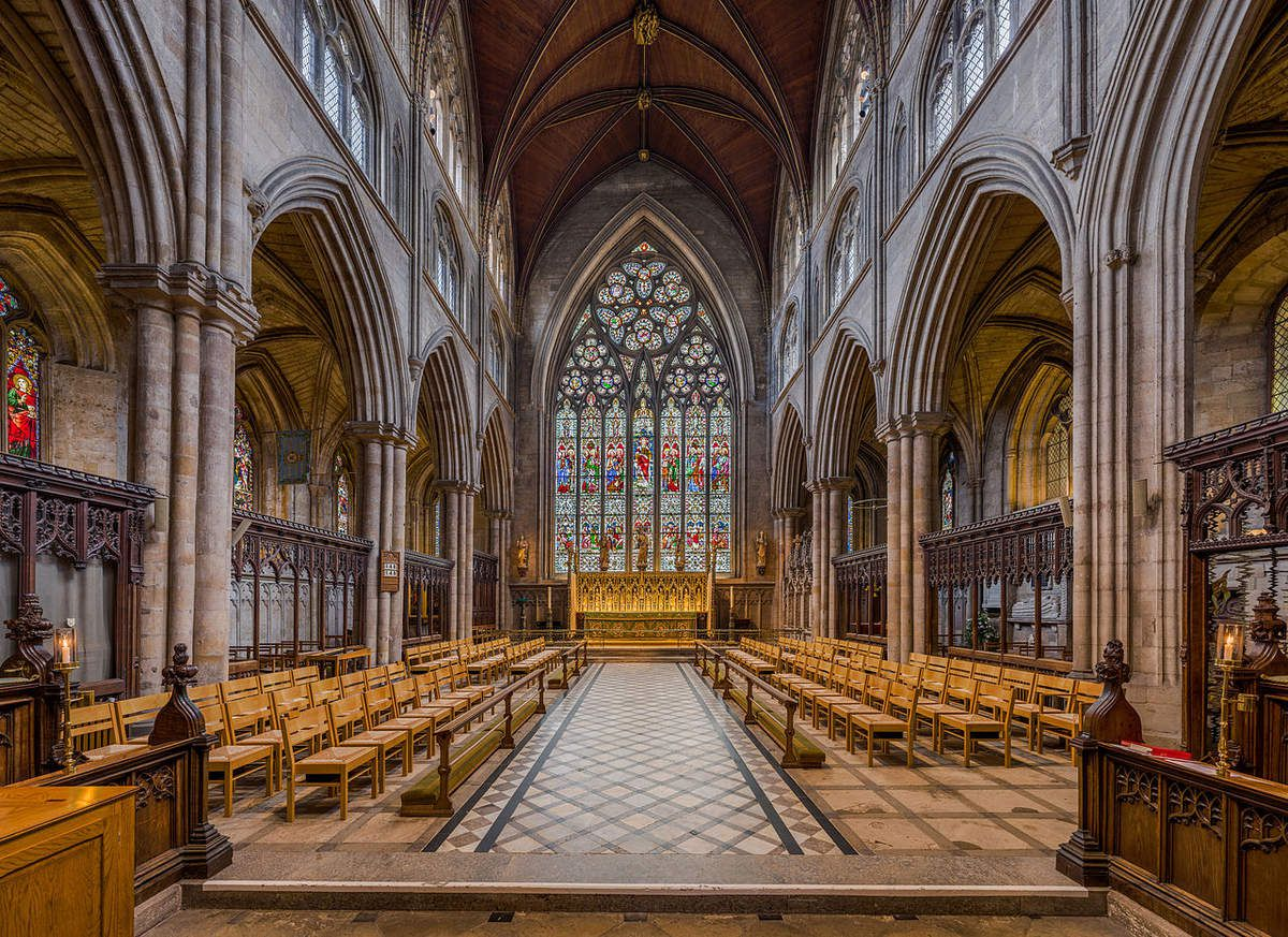 Cathédrale de Ripon (UK), la nef