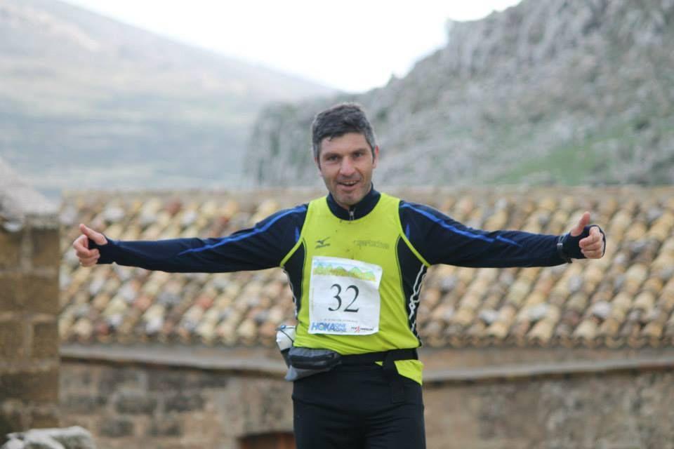 Gerlando Lo Cicero al Cofano Trail 2015