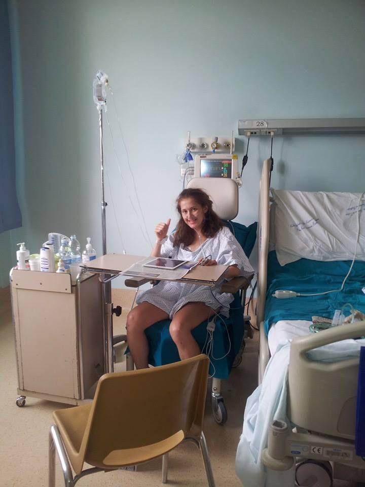 Yulia Baykova. Il suo primo giorno fuori dalla terapia intensiva. E rivolge un saluto a tutti quelli che l'hanno sostenuta.