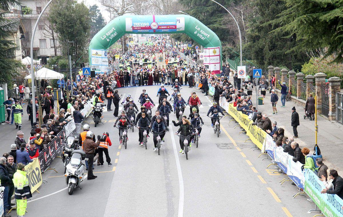 Una sintesi di immagini della Treviso Marathon 1.2 2015