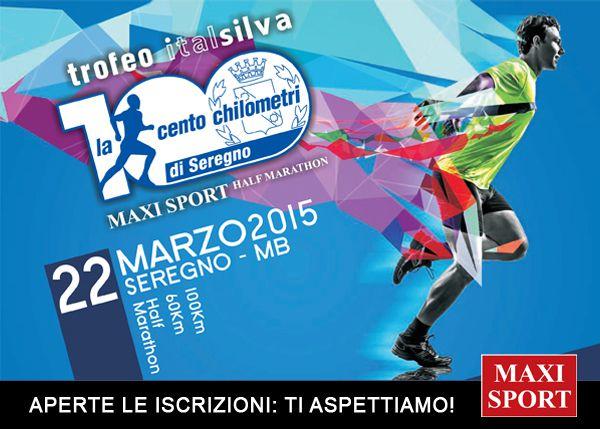 Cento Chilometri di Seregno 2015 - Trofeo Italsilva (7^ ed.). Andrà in scena domenica 22 marzo: con oltre 600 atleti iscritti nelle tre competitive