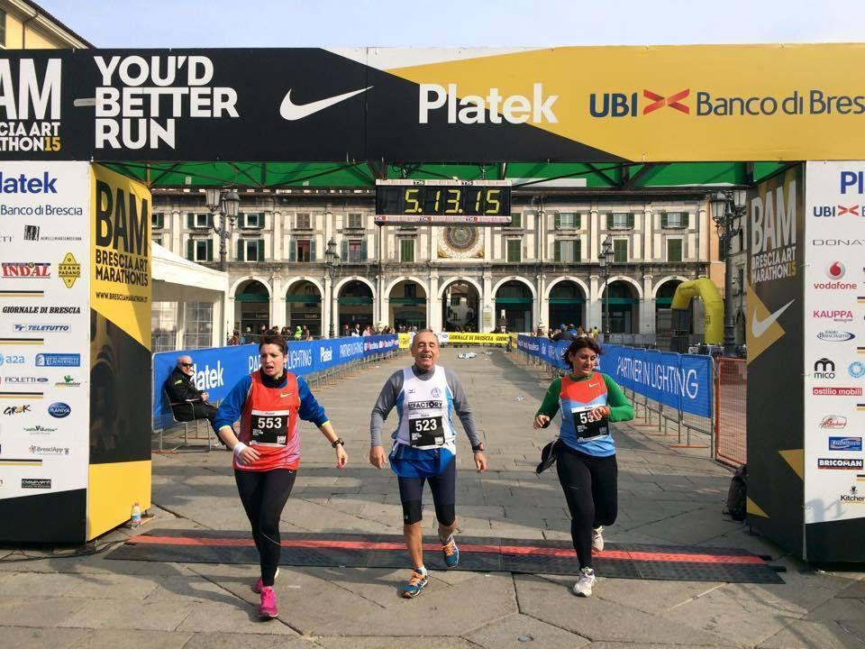 Brescia Art Marathon (BAM) 2015. Quando anche i pacer sbagliano strada, a causa di una scarsa visibilità delle indicazioni
