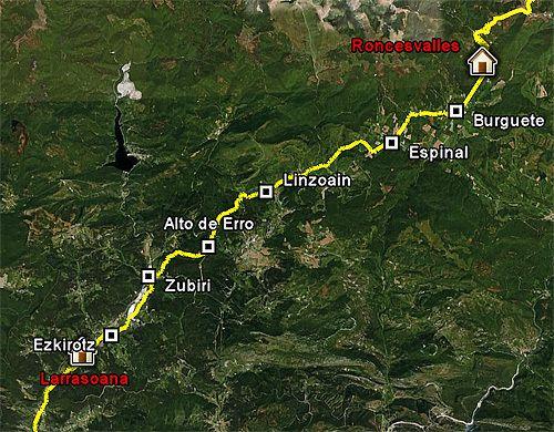 Emanuela Pagan e il Cammino di Santiago. Da Roncisvalle a Larrasoaña (2^ tappa)