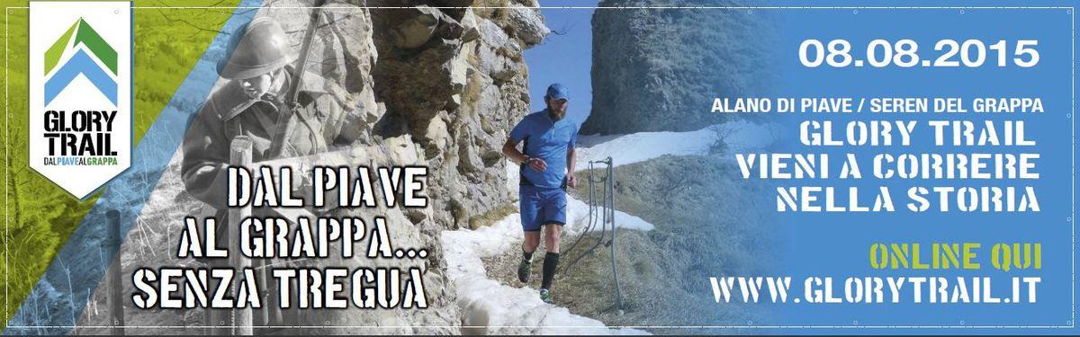 Glory Trail 2015 (1^ ed.). Sono oltre 300, Italiani e stranieri, coloro che hanno aderito a questa prima nel campo del Trail