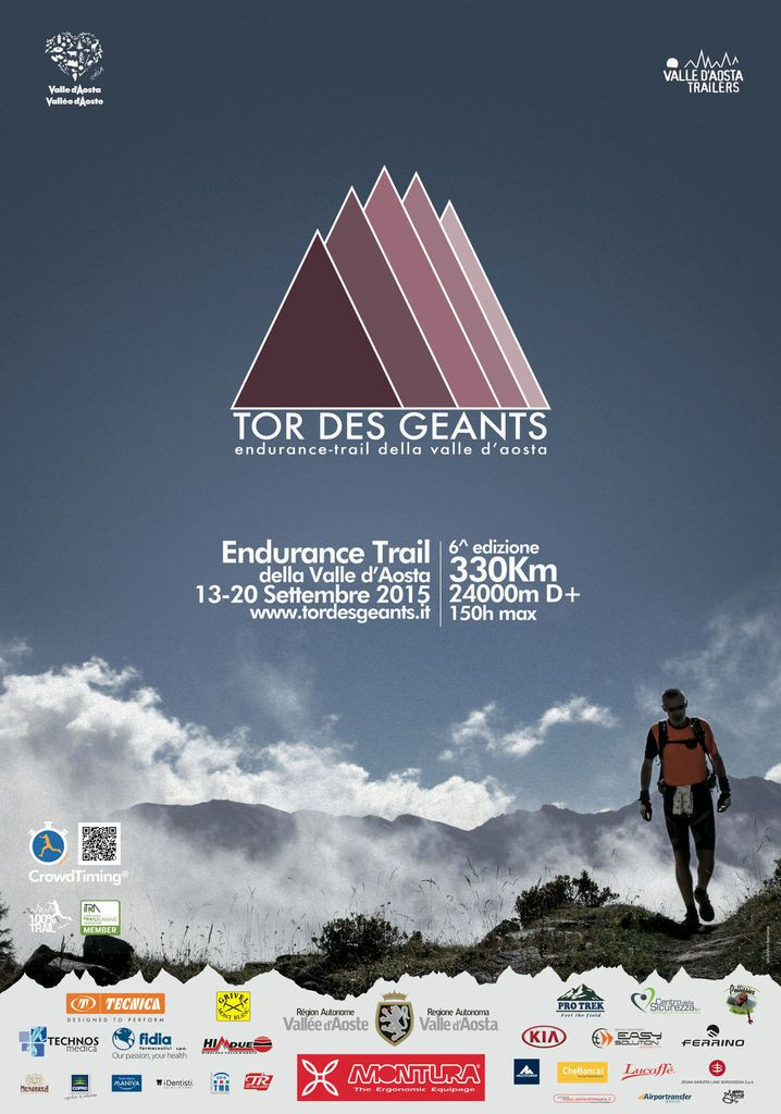 Tor des Géants 2015 (6^ ed.). Coming soon! Va in scena dal 13 al 20 settembre