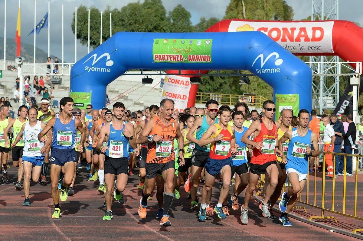International Half Marathon Palermo Coppa Conad 2016 partenza (fonte: Ufficio stampa)