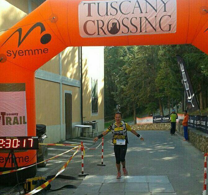 Tuscany Crossing - 100 km in Val d'Orcia 2017. Lara La Pera e Cinzia Sonsogno tengono alto l'orgoglio siciliano in un sogno lungo 103 km
