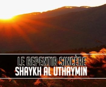 Les conditions du repentir (audio)
