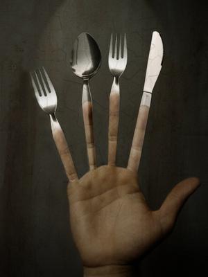 Prendre le repas sur la table
