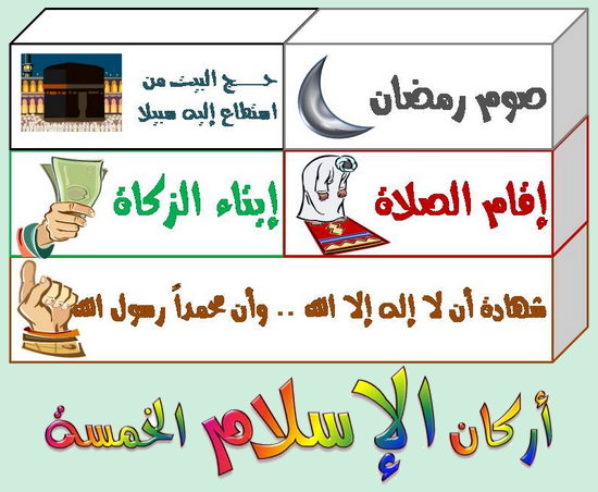 Les piliers de l'islam expliqués enfants - أركان الإسلام (dossier-audio)
