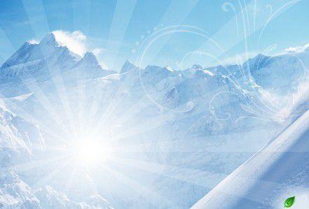 La soumission et la fissuration des montagnes